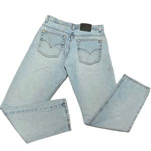 90's Silver Tab Guy's Fit Button Fly Levi's Jeans